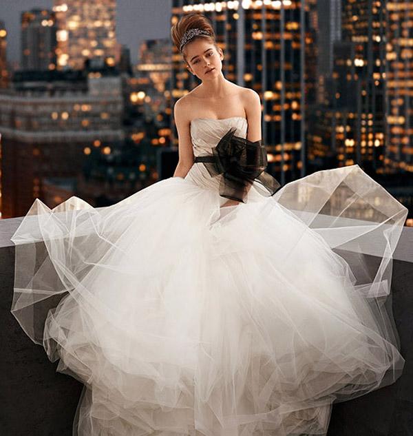 Платье от веры вонг свадебное